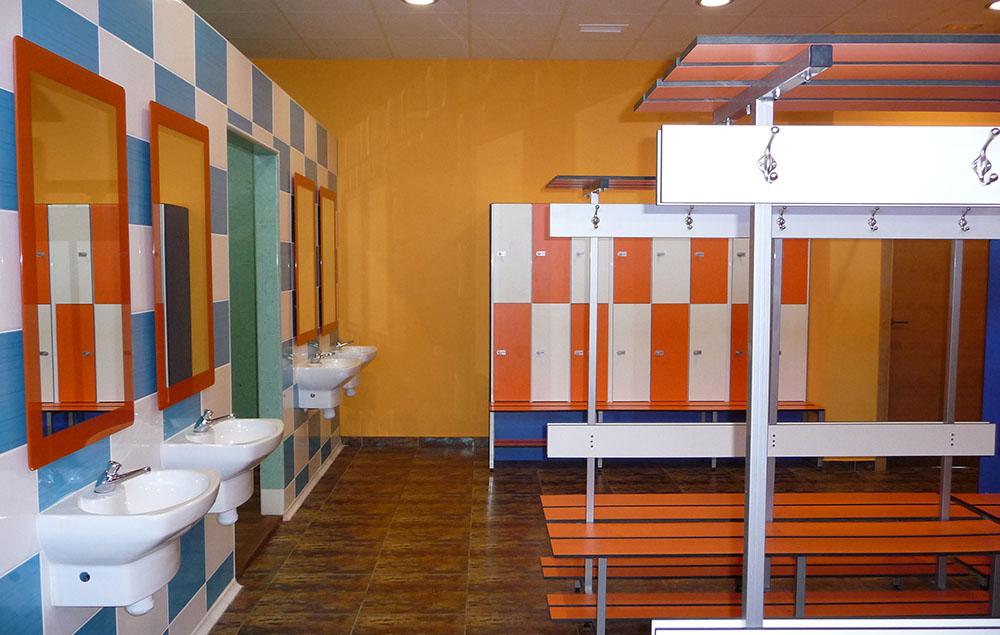 vestuarios gimnasio gymcity