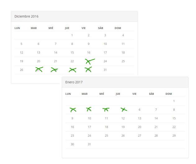calendario campus navidad futbolcity