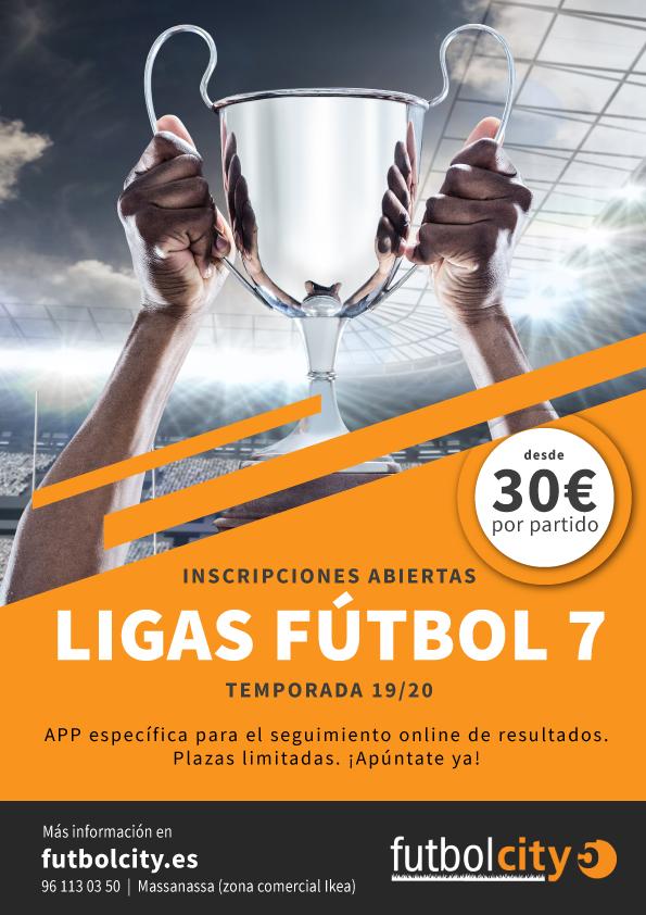ligas fútbol 7